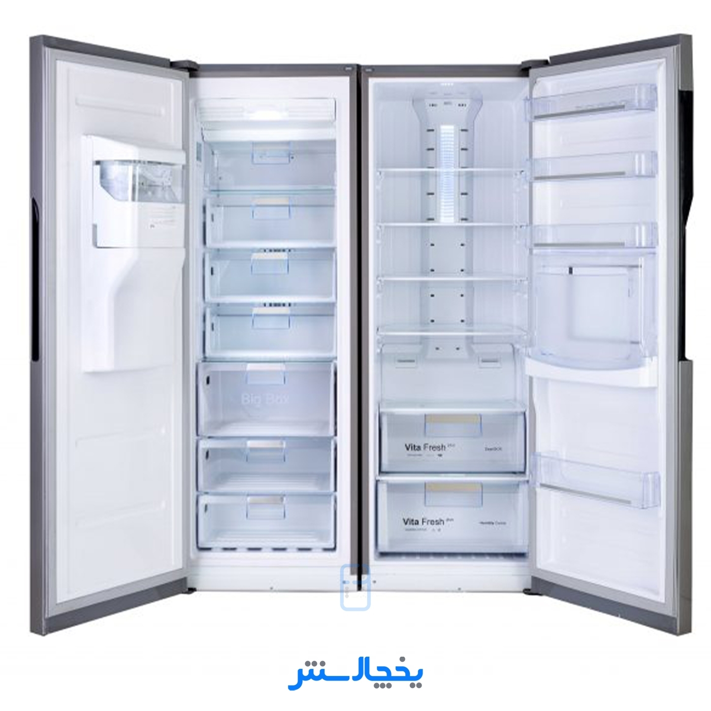 یخچال فریزر دوقلو هیمالیا مدل آلفا پلاس سیلور