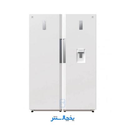 یخچال فریزر دوقلو دوو مدل تویین D4LFR-0020MW سفید متالیک