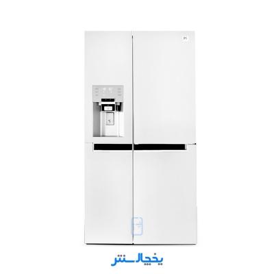 یخچال فریزر ساید بای ساید دوو مدل پرایم سه درب D4S-0034MW سفید متالیک