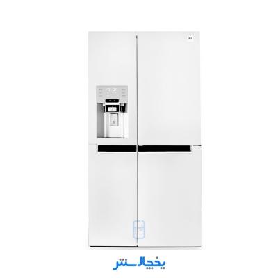 یخچال فریزر ساید بای ساید دوو مدل پرایم سه درب D4S-0036MW سفید متالیک