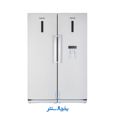 یخچال فریزر دوقلو دیپوینت مدل D4i-PRO سفید چرم