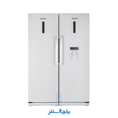 یخچال فریزر دوقلو دیپوینت مدل D4i سفید