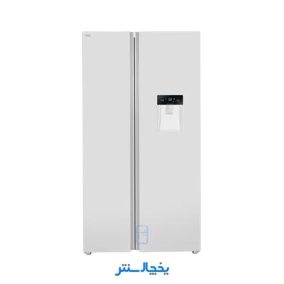 یخچال فریزر ساید بای ساید تی سی ال مدل S545-AWD سفید + ارسال رایگان در تهران