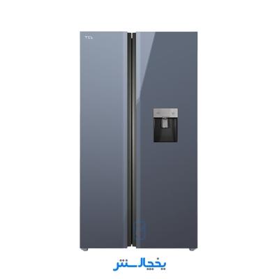 یخچال فریزر ساید بای ساید تی سی ال مدل S660-AGD تیتانیوم + ارسال رایگان در تهران
