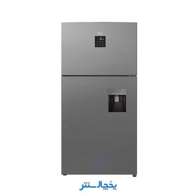 یخچال فریزر تی سی ال مدل T575-AMD سیلور مات + ارسال رایگان در تهران