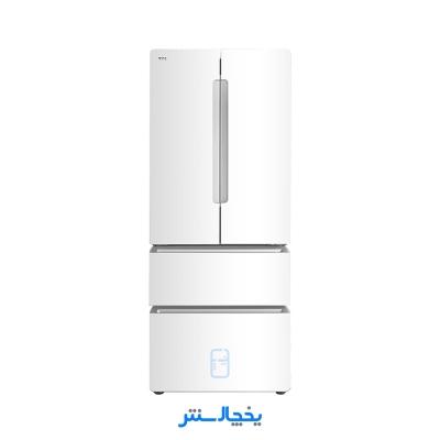 یخچال فریزر فرنچ تی سی ال مدل TRF480-EG سفید