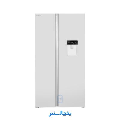 یخچال فریزر ساید بای ساید ایکس ویژن مدل TS550-AWD سفید + ارسال رایگان در تهران